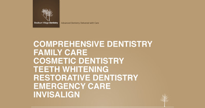 Bradburn Village Dentistry Website Screenshot
