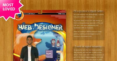 Ayush Saran Website Screenshot