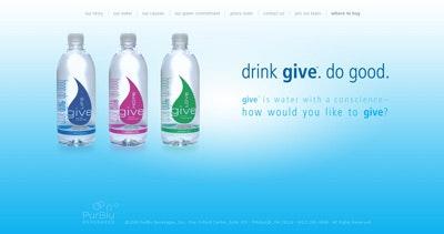 GIVE Natural Spring Water Thumbnail Preview