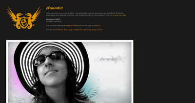 element62 Website Screenshot