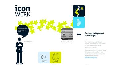 Icon Werk Website Screenshot