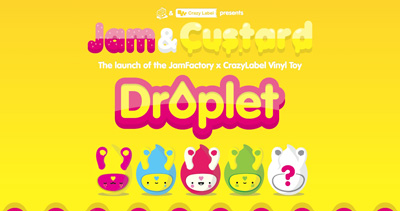 Droplet Website Screenshot