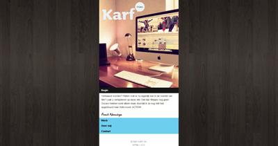 Karf Website Screenshot