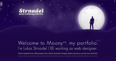 Strnadel Website Screenshot