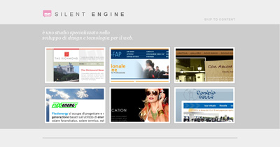 Silent Engine Website Screenshot