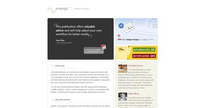 Sinelogic Press Website Screenshot