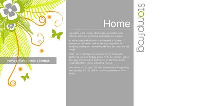 Stompfrog Website Screenshot