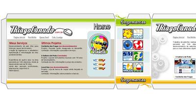 Thiago Canudo Website Screenshot