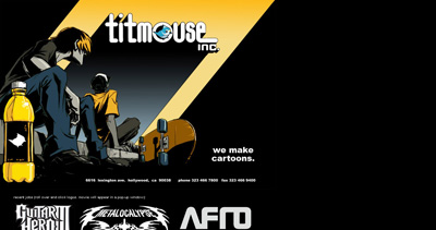 titmouse inc. Website Screenshot