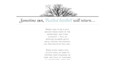 Twisted Intellect Website Screenshot