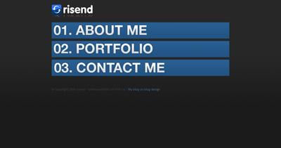 Risend Website Screenshot