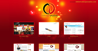 CODESIGN Studios Website Screenshot