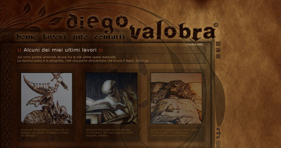 Diego Valobra Website Screenshot