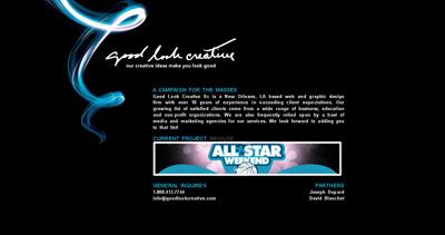 Good Look Creative Website Screenshot