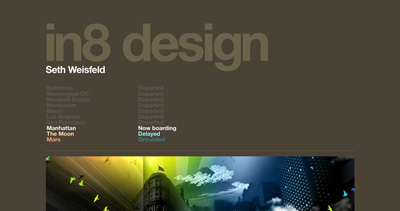 in8 design Website Screenshot