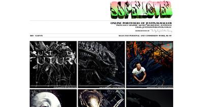 Super Lover Website Screenshot
