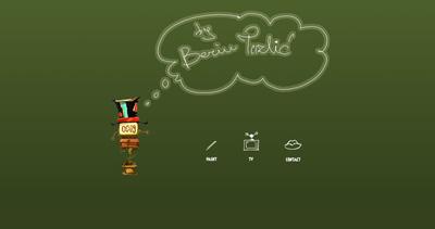 Berin Tuzlic Website Screenshot