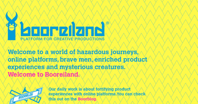 Booreiland Website Screenshot
