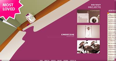 C-Graphics Website Screenshot