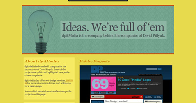 dpitMedia Website Screenshot