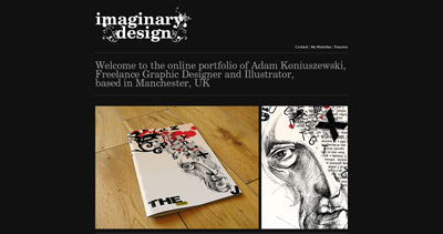 Imaginary Design Website Screenshot