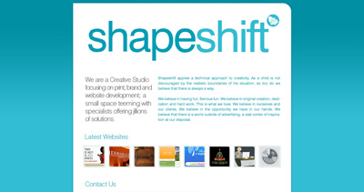 Shapeshift Website Screenshot
