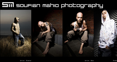 Soufian Mahio Photography Website Screenshot
