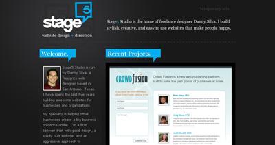 Stage5 Studio Website Screenshot