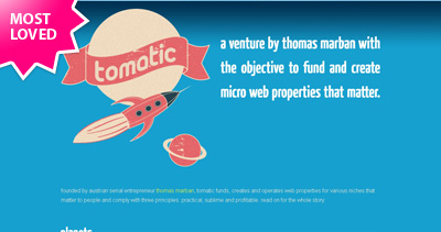 tomatic Website Screenshot