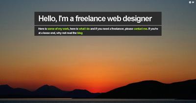 Welcome Brand Website Screenshot