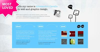Alessandro Cavallo Website Screenshot