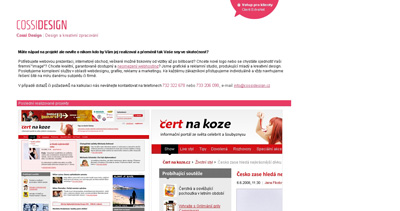 Cossi Design Website Screenshot