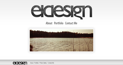 Eldesign Website Screenshot