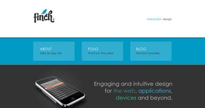 FINCH Website Screenshot