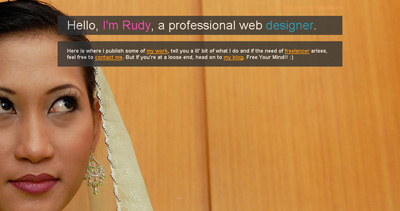 Hair Rudy Website Screenshot