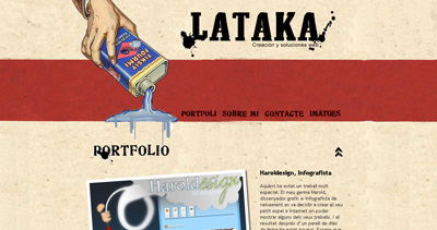 Lataka Website Screenshot