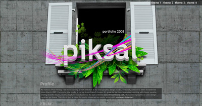 Piksal Website Screenshot