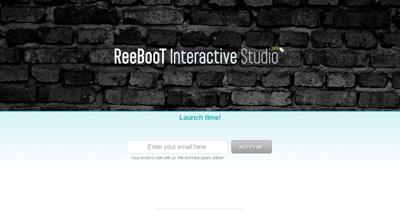 ReeBooT Website Screenshot