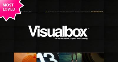 Visualbox Website Screenshot