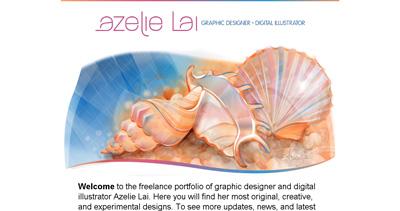 Azelie Lai Website Screenshot