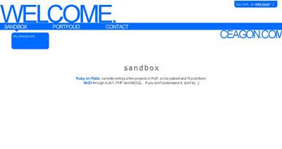 Ceagon Website Screenshot