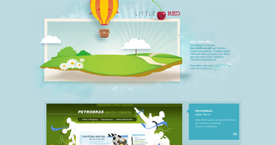 Little Red Website Screenshot