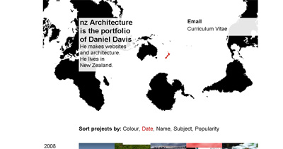 nz Architecture Website Screenshot