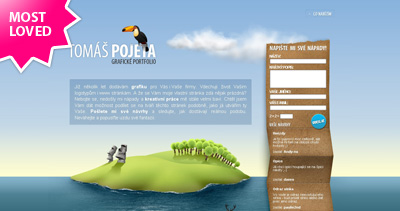 Tomáš Pojeta Website Screenshot