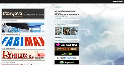 Serdar Aslan Website Screenshot