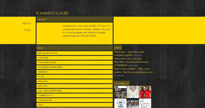 Tommetoch Website Screenshot