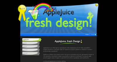 AppleJuice Website Screenshot