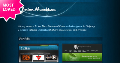 Brian Murchison Website Screenshot