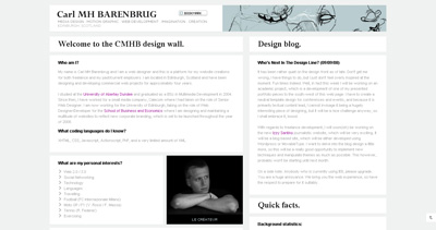 Carl MH Barenbrug Website Screenshot