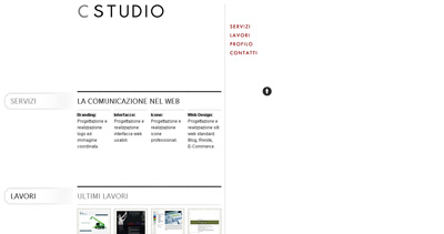 CStudio Website Screenshot